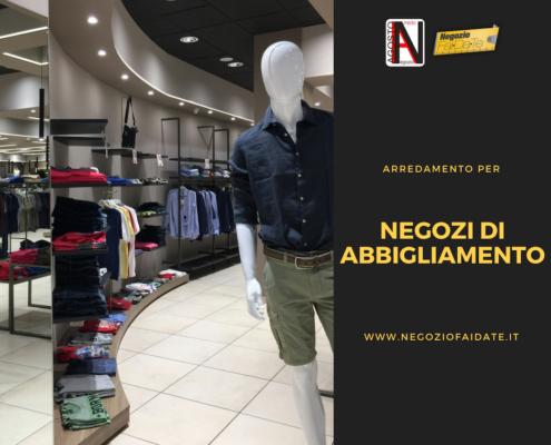 Arredamento negozi di abbigliamento Catanzaro Calabria